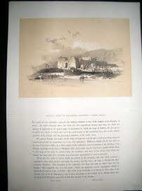 David Roberts Egypt 1848 Half Folio. General View of Kalabshee, Nubia